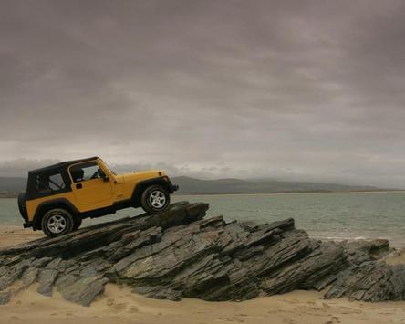 Wallpaper with Jeep Wrangler screenshot 3