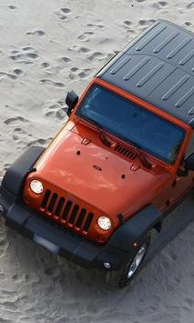 Wallpaper with Jeep Wrangler poster