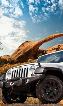 Wallpaper with Jeep Wrangler screenshot 1