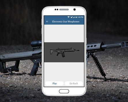Electronic Gun Weaphones screenshot 2