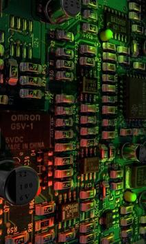 Electronics free livewallpaper apk screenshot