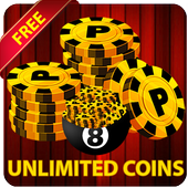 FREE 8 POOL COINS : TRICKS& GUIDE FOR 8 POOL COINS icon