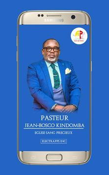 Pasteur Jean Bosco Kindomba poster