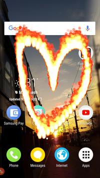 Fire electric screen prank screenshot 1