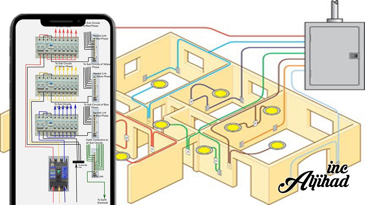 Electrical Circuit Diagram House Wiring For Android Apk Download