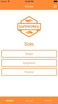 Safeworkz Solo screenshot 2
