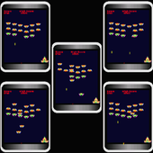 Multi Invaders 12 sets at once icon