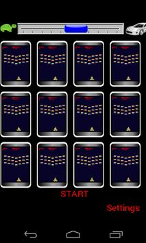 Multi Invaders 12 sets at once poster