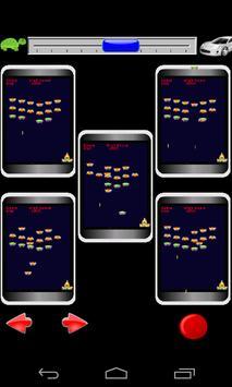 Multi Invaders 12 sets at once apk screenshot
