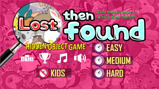 Lost then Found poster