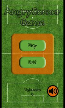 AngrySoccer Game poster