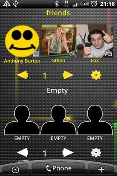 Favourite Contacts Widget apk screenshot