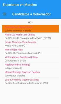 Elecciones Morelos screenshot 2