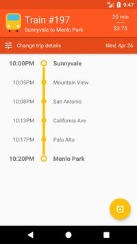 CalChooChoo: Material Caltrain Schedule Explorer screenshot 2