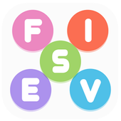 Fives - 5-letter Word Search Game icon