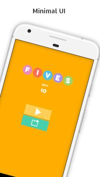 Fives - 5-letter Word Search Game poster