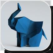 Elephant Origami Tutorials icon