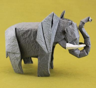 Elephant Origami Tutorials poster