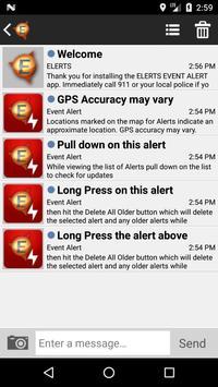 EVENT ALERT apk screenshot