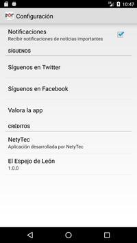 El Espejo de León apk screenshot