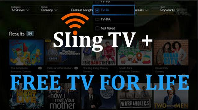 SIing + Pro TV for sling live TV Prank poster