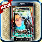 Salam Ramadhan Mobile Legends Photo Frame icono