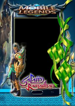 Salam Ramadhan Mobile Legends Photo Frame Poster