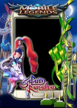 Salam Ramadhan Mobile Legends Photo Frame captura de pantalla 6