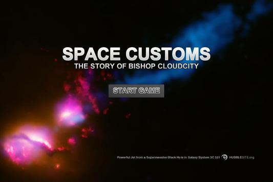 Space Customs Interstellar Law poster