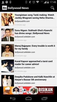 Bollywood News poster