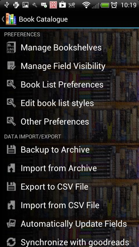 Book Catalogue for Android - APK Download