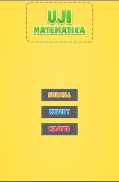 Uji Matematika poster