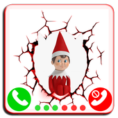 Call From Elf On The Shelf -prank christmas icon