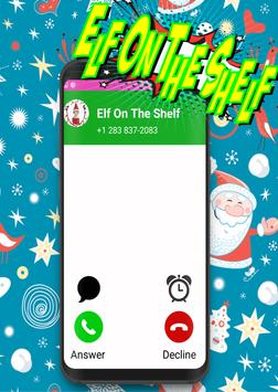 Call From Elf On The Shelf -prank christmas poster