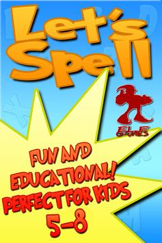 Lets Spell: Learn To Spell poster