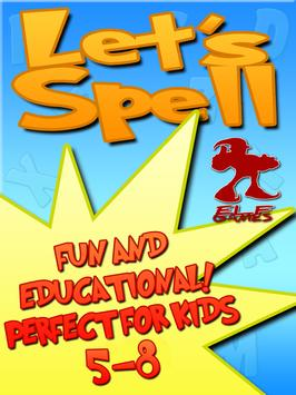 Lets Spell: Learn To Spell apk screenshot