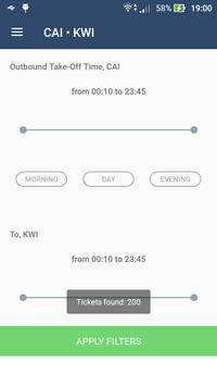 Flights Printout apk screenshot