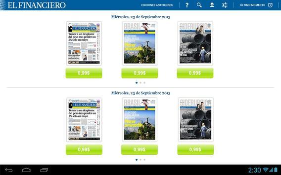 El Financiero (Impreso) apk screenshot