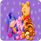 Screen Lock The Pooh For Fans icon