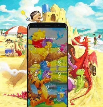 Screen Lock The Pooh For Fans apk screenshot