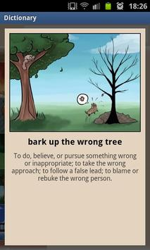 Comic English idioms Free screenshot 2
