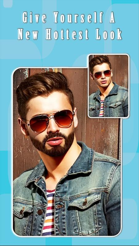Man Beard Hairstyle Pro Boy Photo Editor For Android