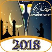 Ramadan 2018 - Zipper Lock Screen icon