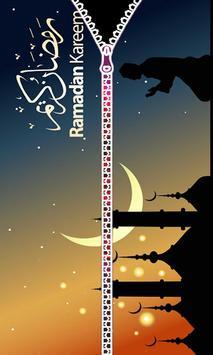 Ramadan 2018 - Zipper Lock Screen poster