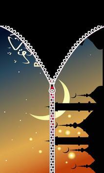 Ramadan 2018 - Zipper Lock Screen screenshot 1