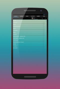 Mp3 Player apk screenshot
