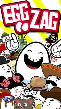 Egg Zag: Endless Arcade Roller poster