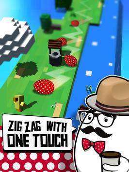 Egg Zag: Endless Arcade Roller apk screenshot