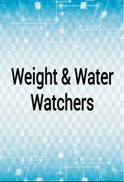weight & water watchers from Elio gp poster