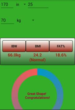 weight & water watchers screenshot 1